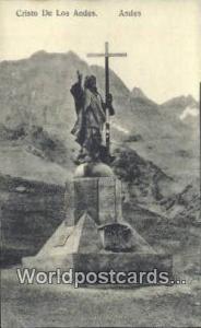 Andes, Peru Cristo de Los Andes  Cristo de Los Andes