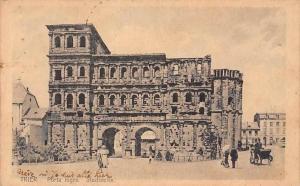 Germany Trier Porta nigra, Stadtseite AK 1921