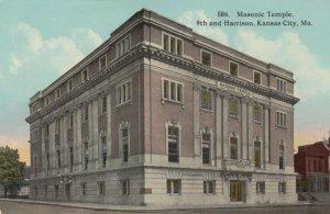 KANSAS CITY , Missouri , 1900-10s ; Masonic Building
