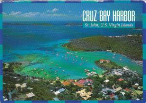 St John Cruz Bay Harbor U S Virgin Islands