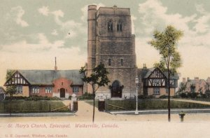 WALKERVILLE , Ontario , 1900-10s ; St Mary's Church , Episcopal