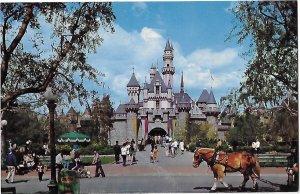 Disneyland Magic Kingdom California Sleeping Beauty Castle Welcomes Guests