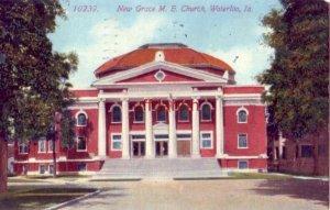 NEW GRACE M.E. CHURCH WATERLOO, IA 1913