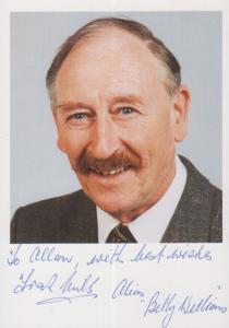 Frank Mills Billy Williams Coronation Street Stunning Cast Hand Signed Photo