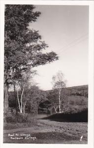 RP; Road to Village Marlboro College, Vermont, 10-20s