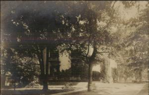 Home IN WITH MEDFORD MA CARDS Written on Back Real Photo Postcard c1910