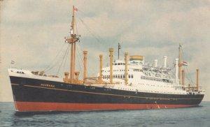 Ocean Liner S.S.  NOORDAM  , Holland-America Line, 1930s-40s