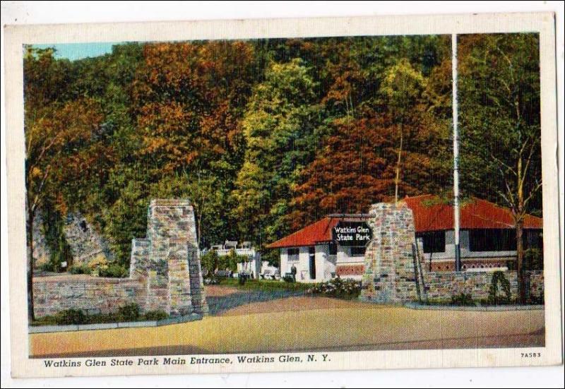 Entrance Watkins Glen NY