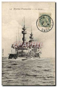 Old Postcard The Boat Hoche