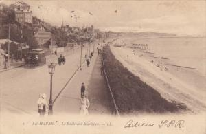 LE HAVRE, Seine Maritime, France, PU-1912; Le Boulevard Maritime