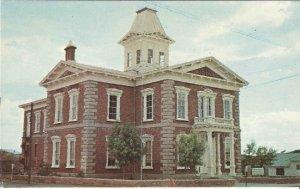 Postcard, The Original Cochise County Courthouse Tombstone Arizona Street Scene