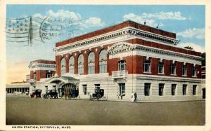 MA - Pittsfield. Union Railroad Station