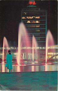 Arrival Building John F. Kennedy Airport Idlewild NY 1967 Chrome