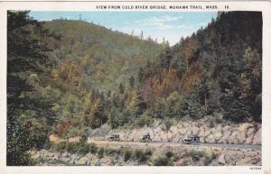View from Cold River Bridge - Mohawk Trail MA, Massachusetts - WB