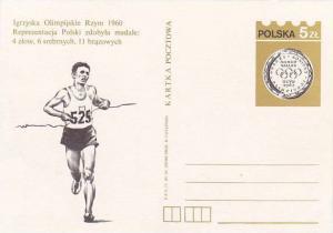 1960 Olympics, PU-Poland , Track & Field running