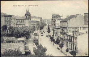 spain, VIGO, Avenida de Garcia Barbón, TRAM  (1910s)