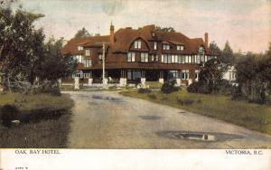 Canada Oak Bay Hotel Victoria B C Pension Postcard