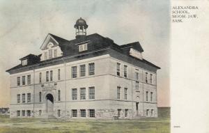 MOOSE JAW , Saskatchewan , Canada , 1909 ; Alexandra School