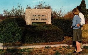 Massachusetts Franklin Horace Mann Memorial