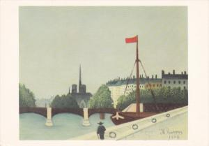 Rosseau, Notre-Dame Vue Du Quai Henri IV, Notre-Dame, Paris, France, 1909