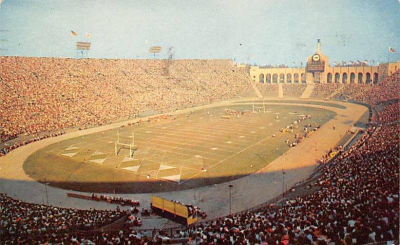 Los Angeles Memorial Coliseum Los Angeles, Calif., USA Football Stadium 1931