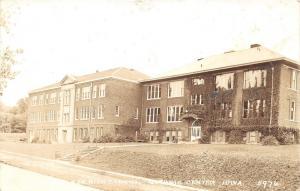 Guthrie Center Iowa~High School & Senior High School Buildings~1930s RPPC