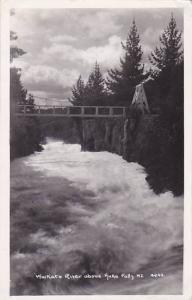 RP, Waikato River Above Huka Falls, New Zealand, 1920-1940s