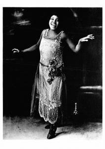 Bessie Smith 1925 - Modern card
