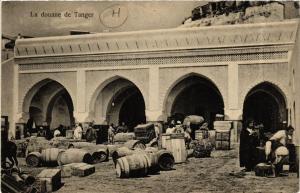 CPA Tanger La douane de Tanger MAROC (720060)