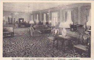 Michigan Homelike The Lobby Formal Early American Cheerful Albertype