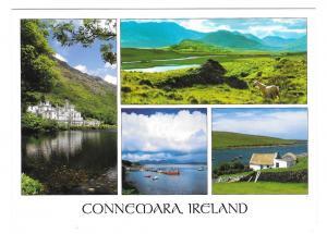 Connemara Ireland Co Galway Multiview John Hinde Postcard