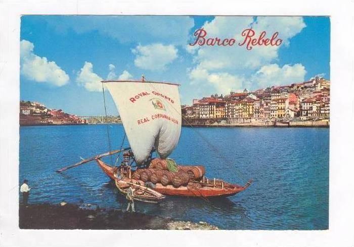PORTO - Barco Rebelo e Vista Parcial, Portugal 50-60s