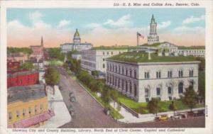 Colorado Denver United States Mint and Colfax Avenue