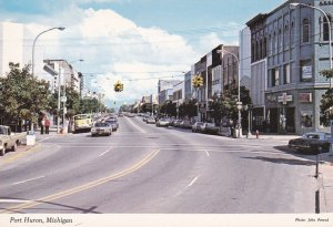 PORT HURON , Michigan , 1960-80s ; Street View