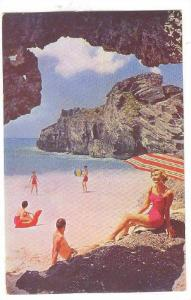 Bermuda Beachers are famous for their white coral sand tinged with pink, 40-60s