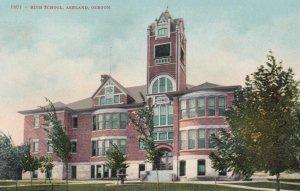 ASHLAND , Oregon , 1900-10s ; High School , version 2