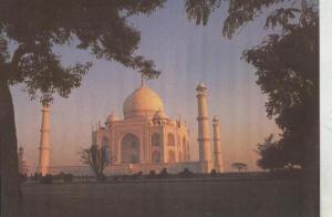 Postal::Taj Mahal-India