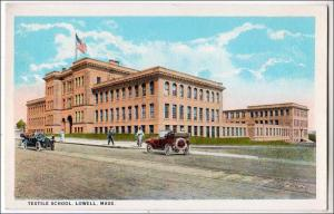 Textile School, Lowell MA