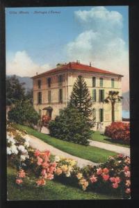 102261 ITALY Villa Montu Bellagio (Como) Vintage colorful PC