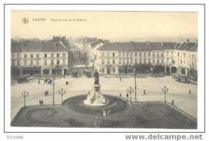 LOUVAIN (Leuven), Belgium, 00-10s Place et rue de la Station