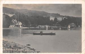 Belsfield Hotel Bowness on Windermere Cumbria Lake Boats