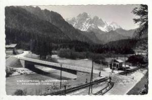 RP  Gesausestrasse b. Gstatterboden m. Reichenstein, PU-1967, Train Station