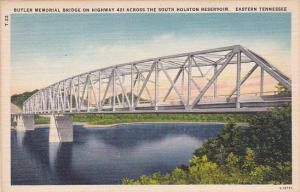 Tennessee Eastern Tennessee Butler Memorial Bridge On Highway 421 Across The ...