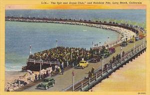 California Long Beach Spit and Argue Club and Rainbow Pier Curteich