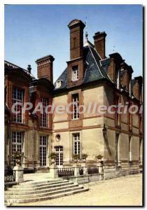 Modern Postcard Chateau de Thoiry en Yvelines Built on Open meters Delorme fo...