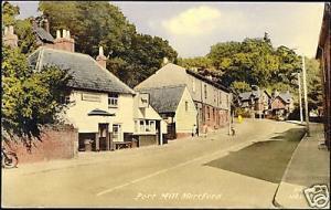 herts, HERTFORD, Port Hill, Ind Coope Pub (1960s)