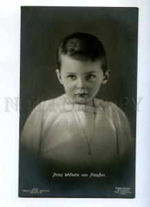 235443 GERMANY ROYAL Prinz Wilhelm von Preussen Vintage photo