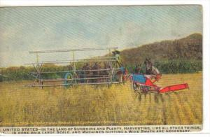 Plowing ; American Harvesting Machines , UNITED STATES , 00-10s