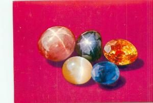 Postcard India Sri Lanka Gems Polished # 2742A