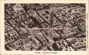 Paris 8 - District L & # 39Opera - Old Postcard